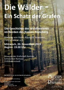 Der Wald – Ein Schatz der Grafen @ Museum der Grafschaft Rantzau