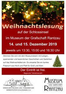 Weihnachtslesung @ Museum der Grafschaft Rantzau